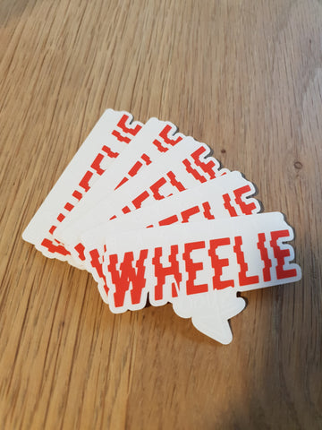 Backpackwheelieboyz Stickers x5 - BPWB-shop