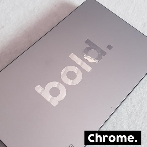 Bold. CHROME Stickers x3 (EARLY ACCESS) - BPWB-shop
