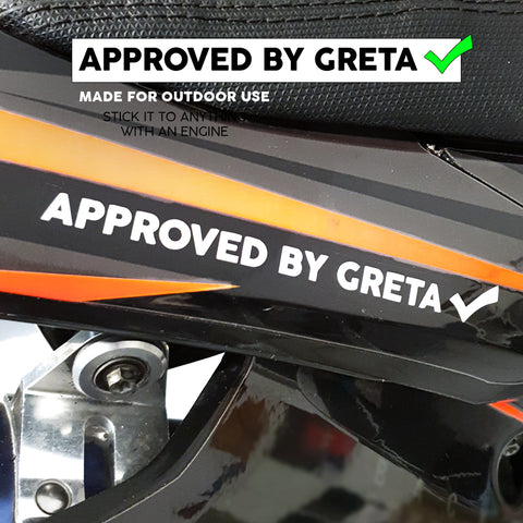 APPROVED BY GRETA Stickers X5 - BPWB-shop