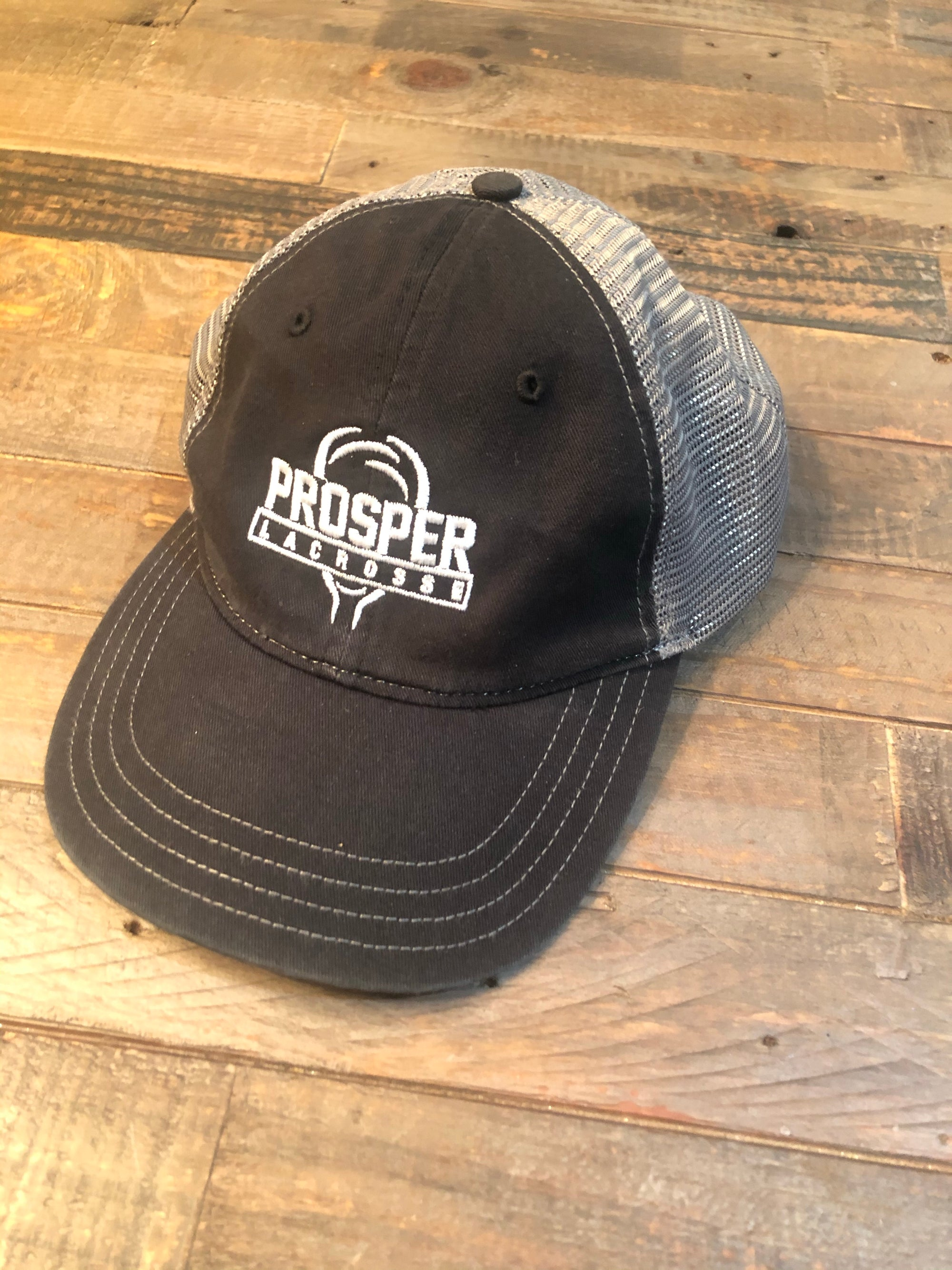 Low Profile Hat - Black/Gray
