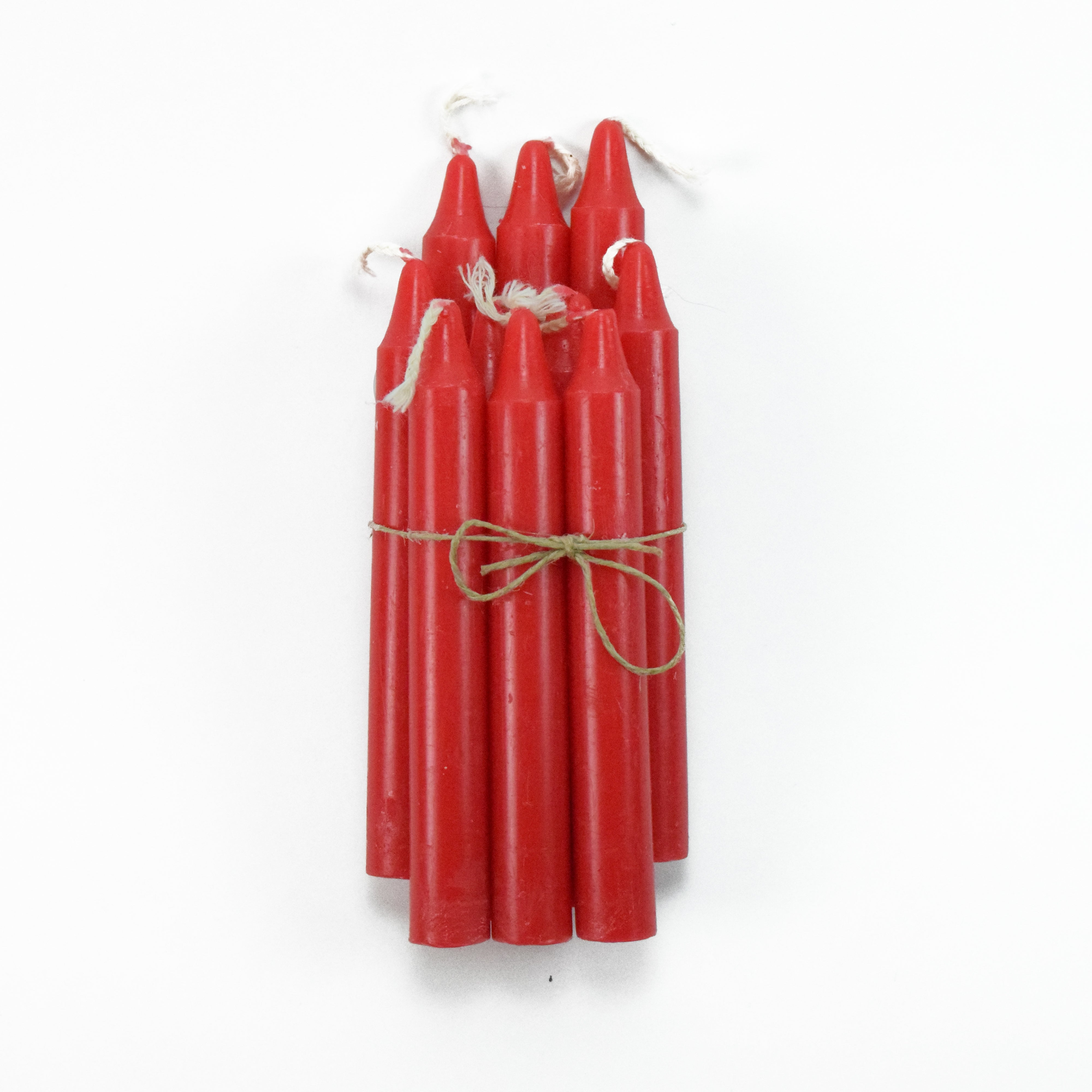 Red Spell Candles (10 Pack)