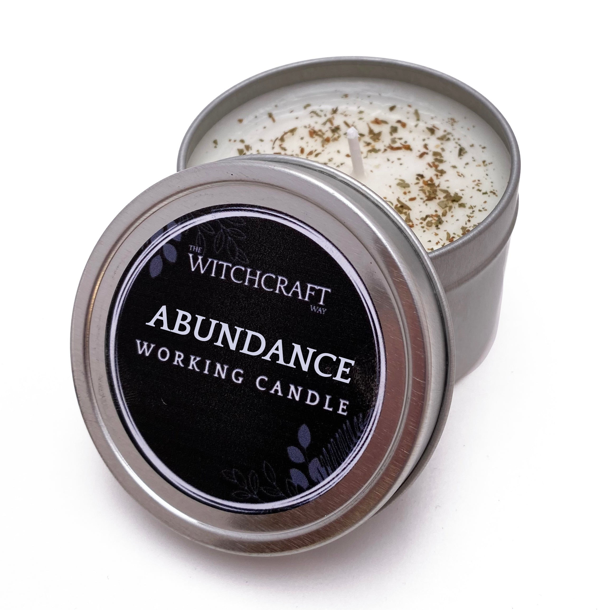 Abundance Working Candle