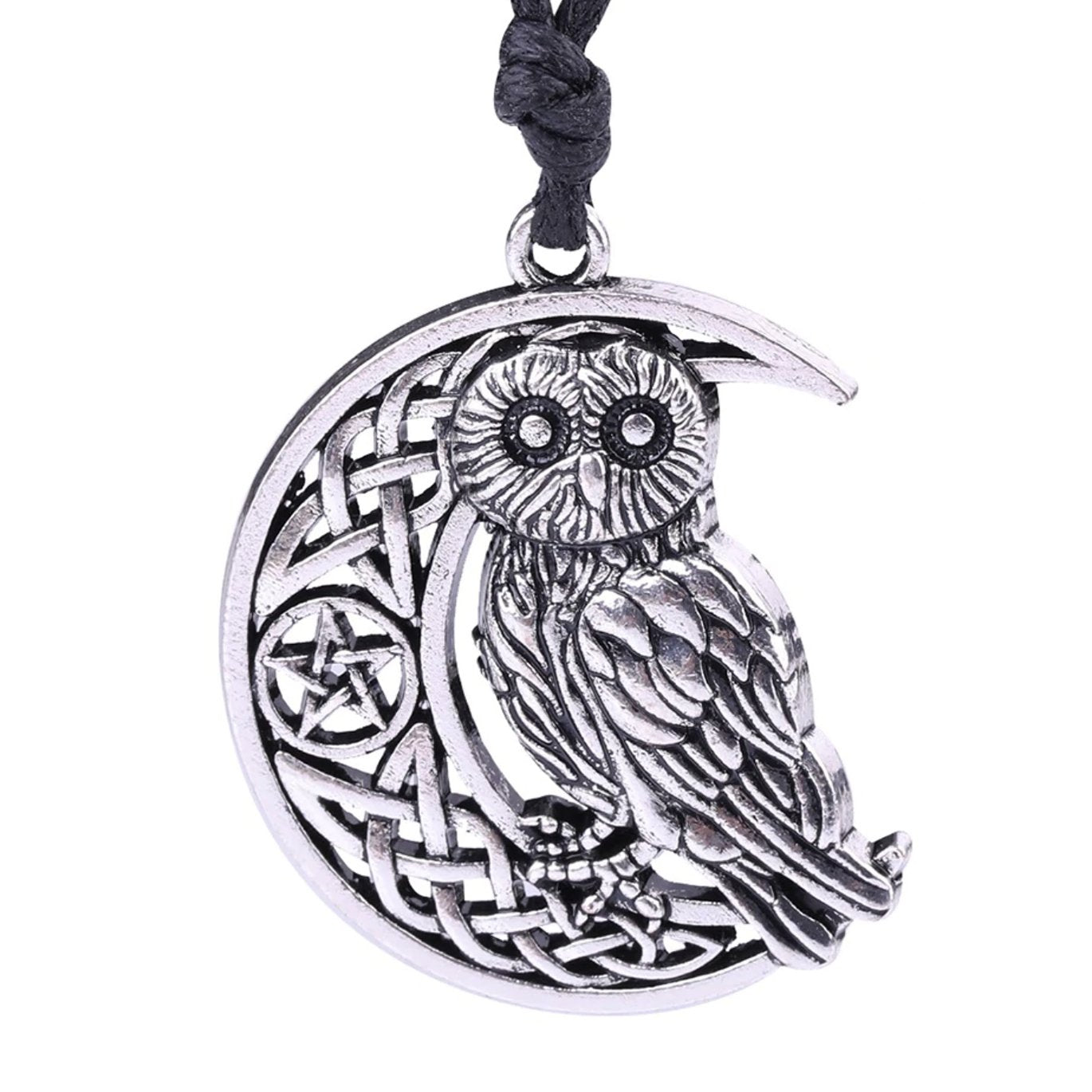 WITCHY OWL NECKLACE