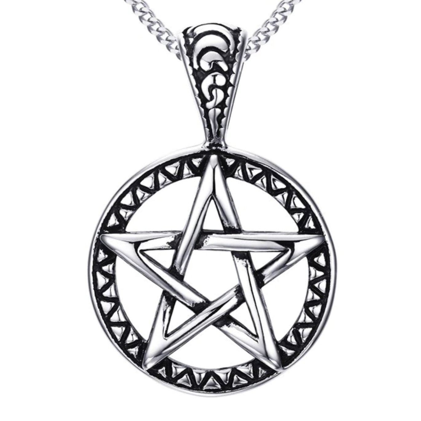 WOVEN PENTACLE NECKLACE