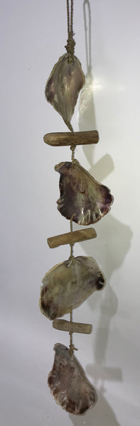 Hanging Shell on Rope