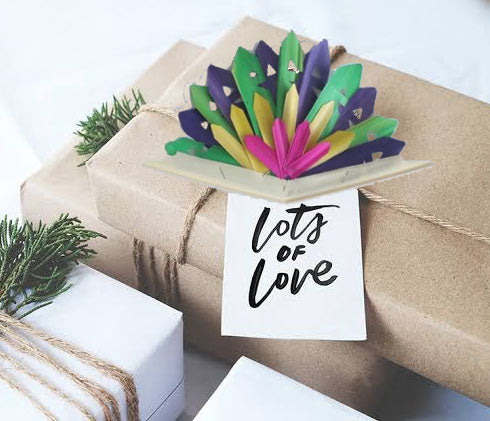 Natural Leaf Gift Decoration