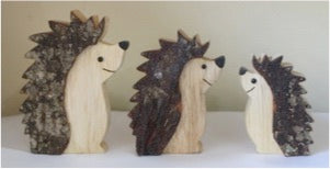 Standing Hedgehog set of 3