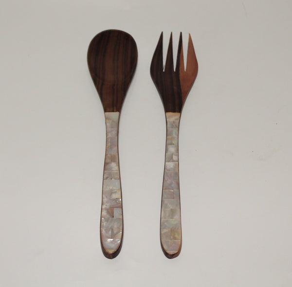 Salad spoon set