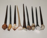 Hair Pins with shells