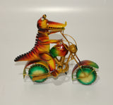 Crocodile on Bike
