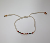 Bracelet with pearl 2mm line