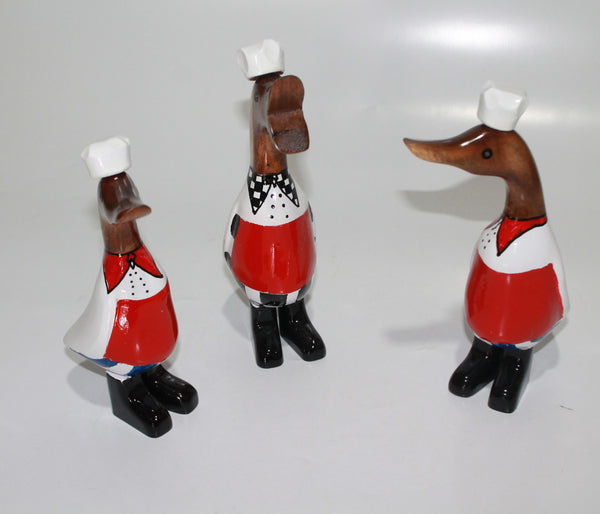 Duck As chefs (set of 3)