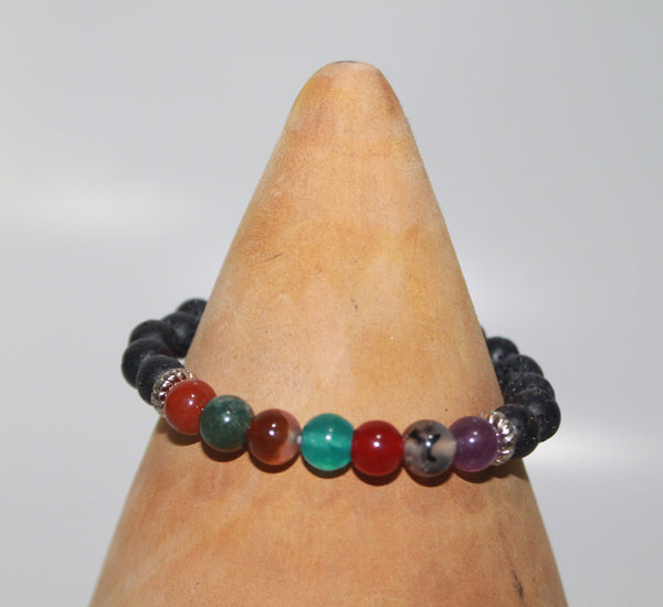 Bracelet With 7 Colors Beads
