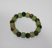 Bracelet Elastic with Tiger Eye stone
