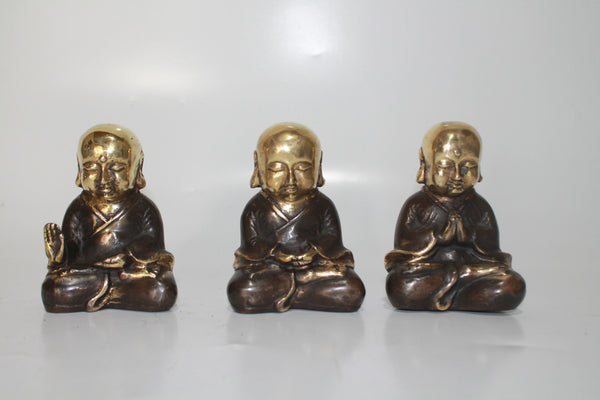 Buddha Monk (set of 3)