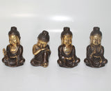 Buddha Shaolin in set of 4