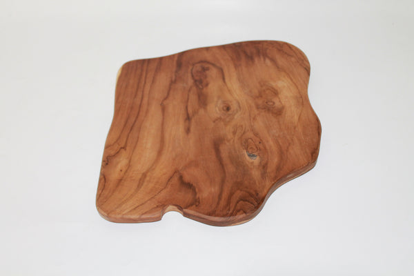 Chopping board / Dinner side-plate from natural Teak wood