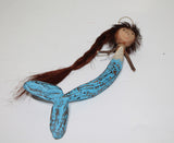 Hanging Mermaid Blue Body