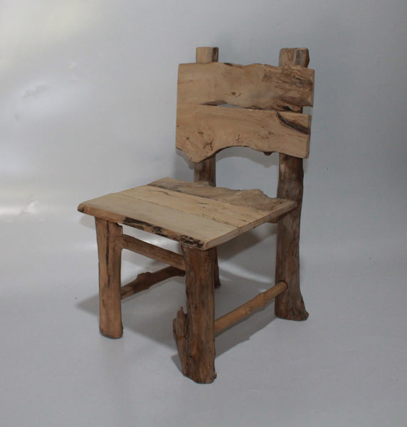 Natural Small Kid's Chair