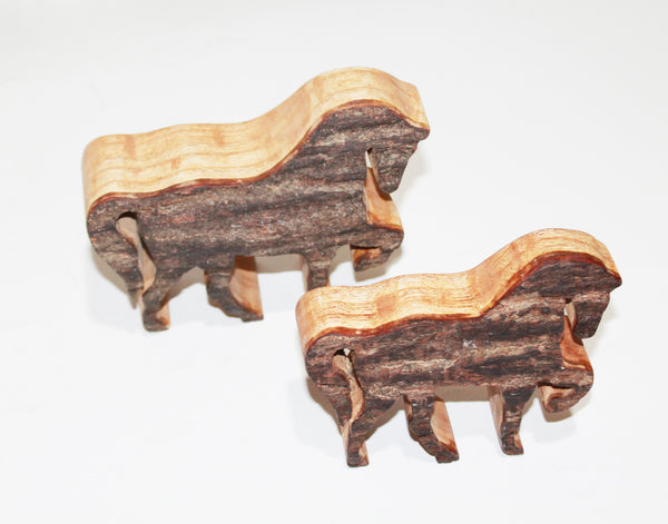 Horse In Wood