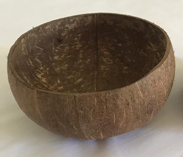 Natural RAW Coconut Bowl (without leg)