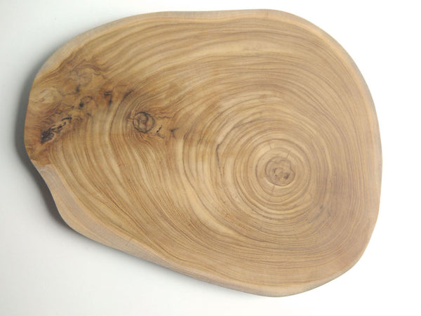 Round chopping board in Teak Wood