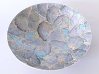 Round plate set of 4