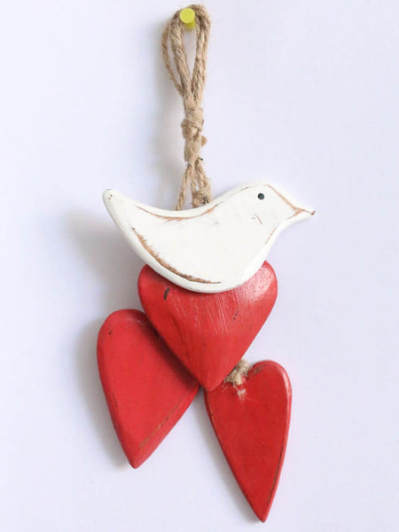 Hanging Heart and Bird