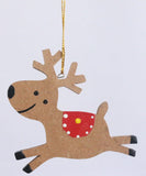 Hanging jumping deer