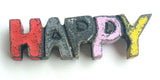 Magnet decoration Happy / Peace / Hope