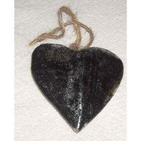 Wooden Heart (Silver or Gold)