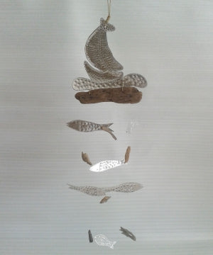 Aluminium boat and fish chime