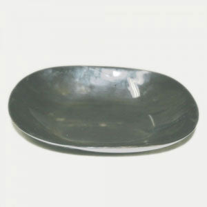Buffalo Black Square Plate (Horn)