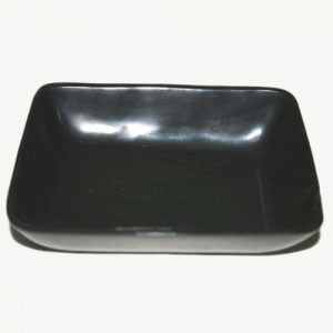 Buffalo Black Rectangular Plate (Horn)