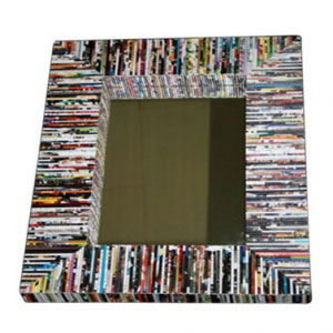 Recycled Magazine Paper Mirror