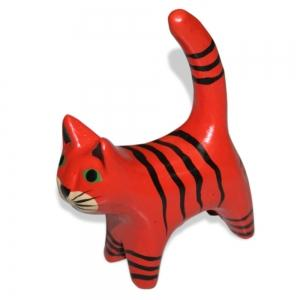 Cat set of 4 with stripes