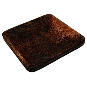 Square Plate (Palm wood)