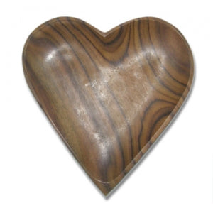 Heart Plate (Rosewood)