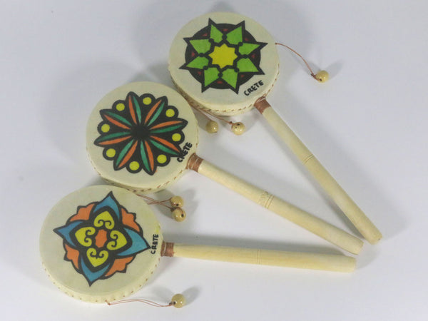 Hand drum (Ornament painting)