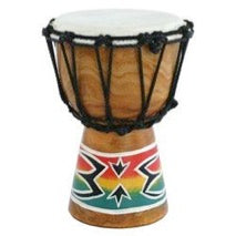Djimbe drum with Sponge painting