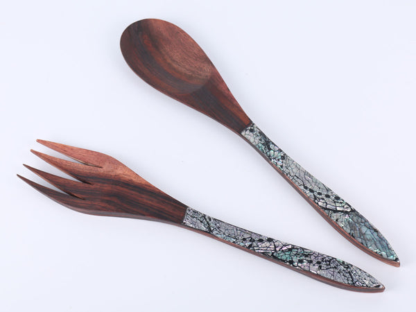 Salad set (Rosewood)