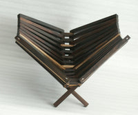 Fruit Bowl with 4 legs (Rosewood)