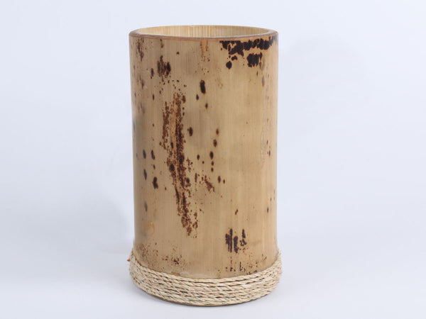 Bamboo decorative cup with handle