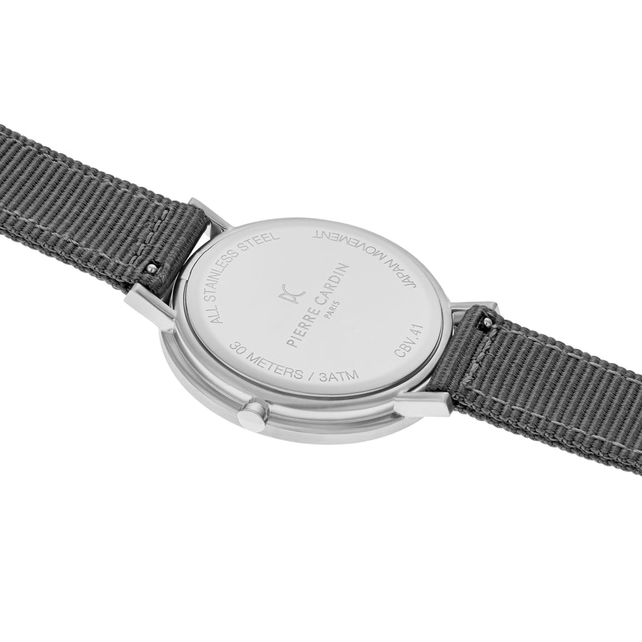 Belleville Park Black Gray Nylon Watch