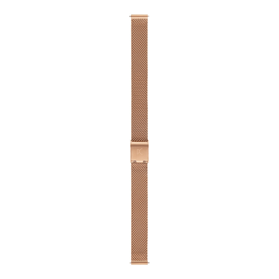 12mm Stainless Steel Strap, Rose Gold
