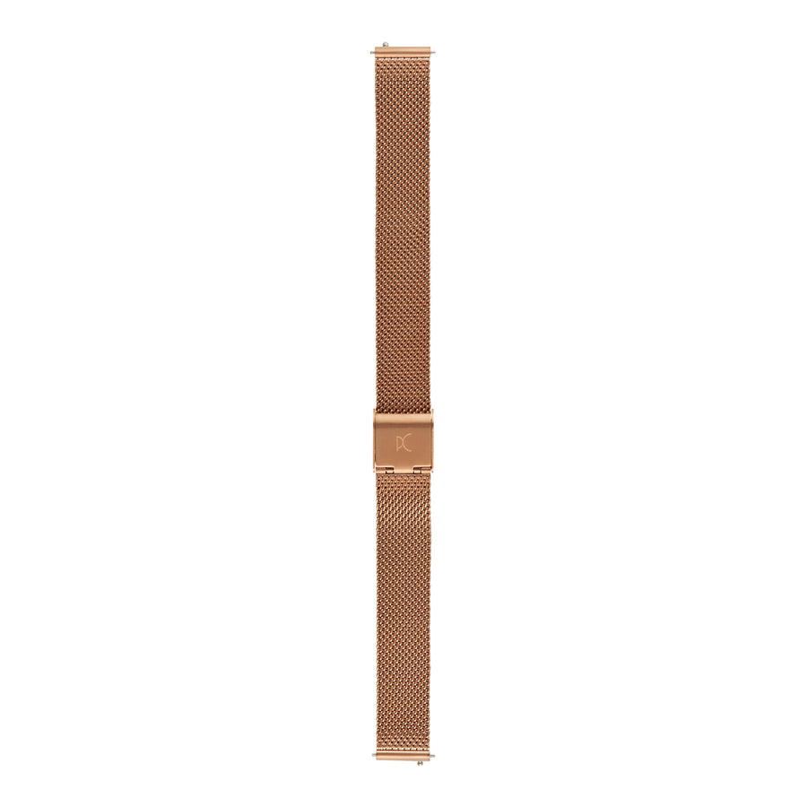 14mm Stainless Steel Strap, Rose Gold
