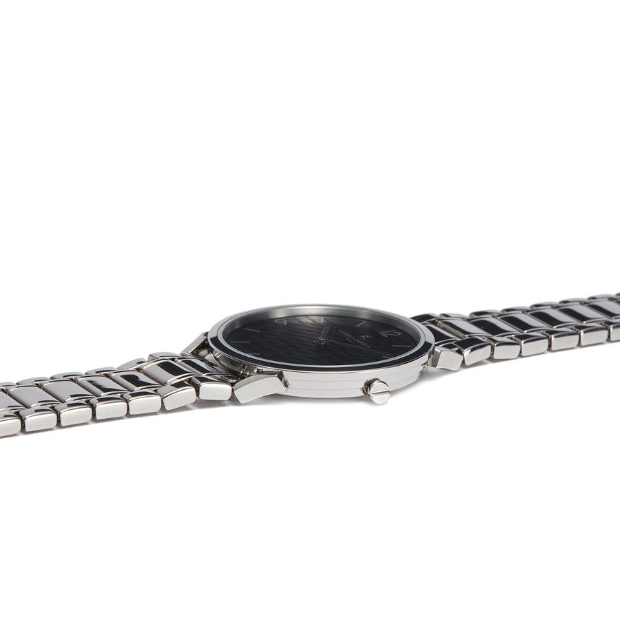 Pigalle Stripes Black Stainless Steel Link Watch