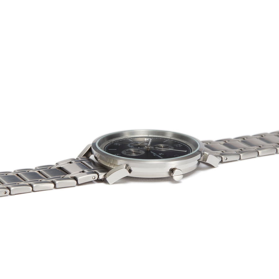 Pigalle Nine Black Stainless Steel Link Watch