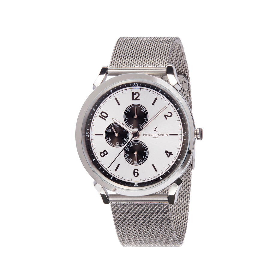 Pigalle Nine Stainless Steel Mesh Watch