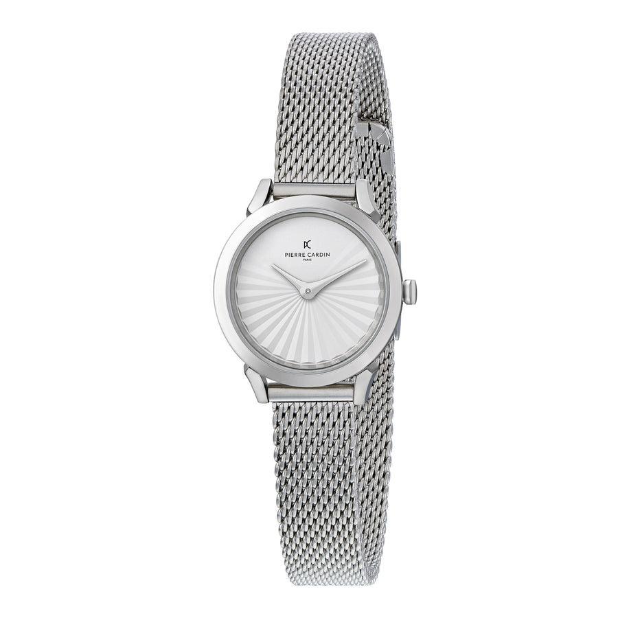 Pigalle Plissée Stainless Steel Mesh Watch